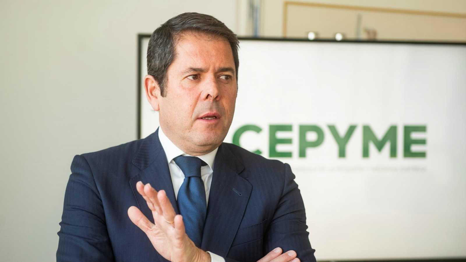 Gerardo Cuerva (Cepyme): «Si España no invierte en pymes tendrá que gastar en desempleo»